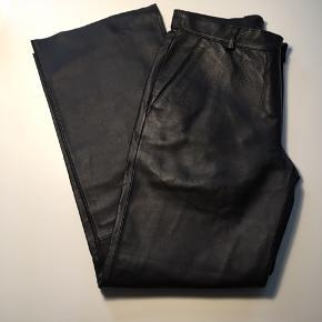 Læder/skind bukser