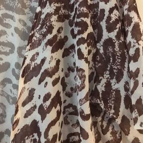 Dyremønstret kimono cardigan