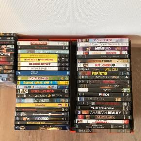 Mange forskellige dvd'er Priser fra 5-10kr Afhentes i Andrup