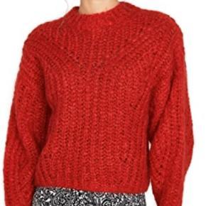 Sælger min asymetriske Isabel Marant Inko Sweater i rød - nypris var 682 euro så lige lidt over 5000 kr. Købt på Net-a-Porter for et par måneder siden som julesweater. Er åben for bud :))
