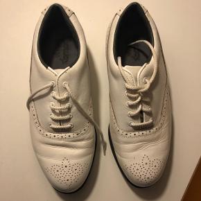 Golf sko kvinder str 38,5. Hvide