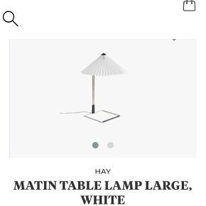 Hay Bordlampe