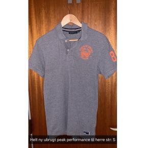 Fed peak performance trøje aldrig brugt Str:S  Mørkegrå
