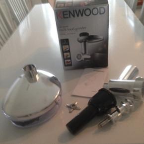 Kenwood kødhakker passer til kenwood chef/major      Aldrig brugt