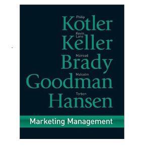 Marketing ManagementAf: Philip Kotler;Kevin Lane Keller;Malcolm Goodman;Torben Hansen; ISBN: 9780273718567  Stand:8/10  Køber betaler porto. Kan sendes med DAO.