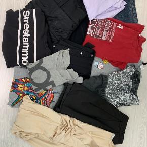 Alt dette tøj sælges i en samlet pakke til 75kr  Størrelsen på tøjet er medium.