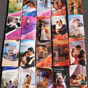 """Julia/Harlekin kærlighedsromaner. Den """"tynde"""" udgave med en enkelt historie i.  Tag 10 stk for 50 kr.  Sender gerne med DAO på købers regning"""