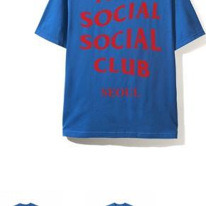 "ANTI SOCIAL SOCIAL CLUB  ""SEOUL CITY TEE""  A/W 2018  FREE SHIPPING     BYD, PRISEN KAN SAGTENS FORHANDLES"