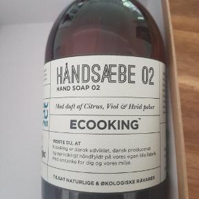 Ecooking håndsæbe .500 ml . Aldrig åbnet