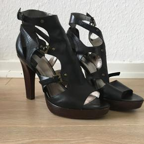 Flotte sko med ægte læder