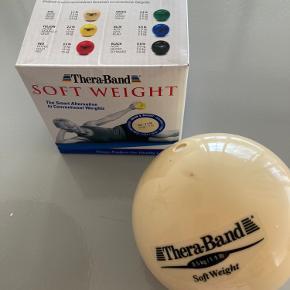 Thera-Band Soft weight kugle  Beige = 0,5 kg