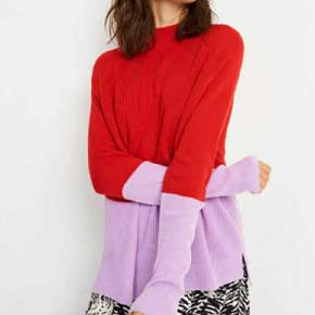 Envii  Ennicoline knit block str.xs (stor i størrelsen)farve red/lavenda