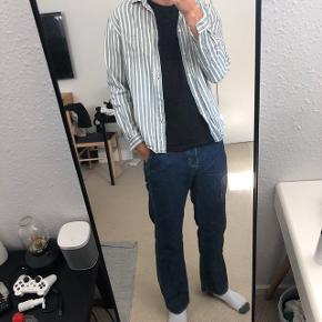 H&m stribet skjorte