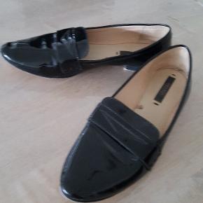 Ballerina sko fra Zara, brugt par gang
