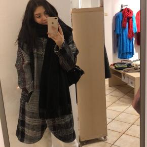 Oversized designers coat, made in Lithuania by brand Kristijonas & Karolina. Never worn only tried on. Selling because it's too big. Fits sizes L- XL-XXL.  Matarial made from Mohair, Alpak, Wool. Perfect for danish autum and witer :))