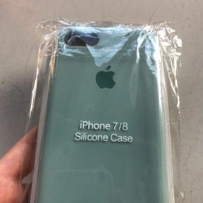Fint silicone apple cover til iPhone 7/8, stadig i indpakning 🦋 *ikke fra rigtig apple butik