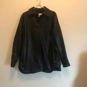 Læder jakke