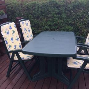 Havemøbler sælges som ses på billedet