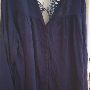Tunika skjorte med flot ryg