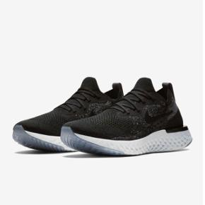 Nike Epic React Flyknit i sort med hvid sål. Ikke brugt meget og er i virkelig god stand. Billeder af mine egne kommer op snarest. Nypris 1200 kr. Byd gerne :-)