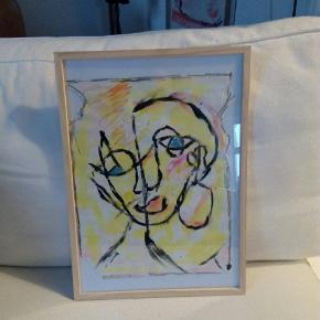 Sælger disse malerier UDEN Ramme. 200 kr. Inklusiv fragt 27 x 36  cm  Følg med på min profil, flere maleier kommer til salg DETTE ER SOLGT MEN LIGENDE KAN JEG MALE