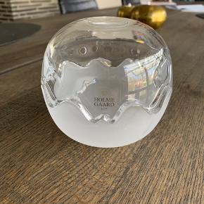 Holmegaard Mixed Double bonbonniere til fx. snacks o.lign. Mellem model. Ingen skår eller ridser. 6700/Rørkjær