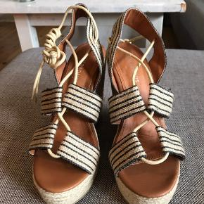 Beautiful lace-up espadrilles, never used! EU size 38.