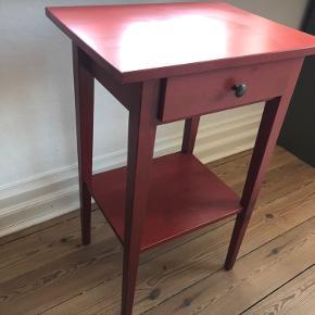 HEMNES natbord, rød, B: 46 cm, D: 35 cm, H: 70 cm