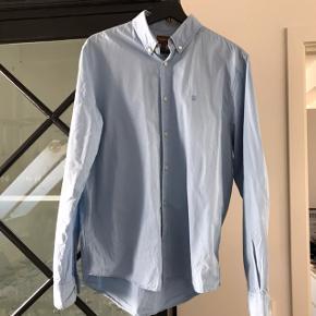 Blå herre skjorte fra Härkila. Ny pris var 799kr