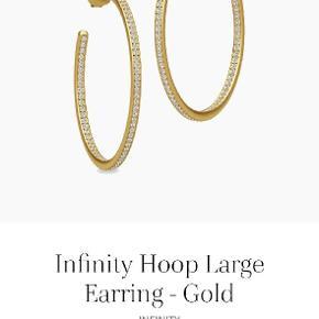Julie Sandlau Infinity Hoop Large øreringe sælges