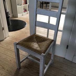 Egetræs stole. 8 stk. Sælges samlet