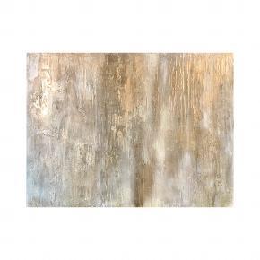 Måler 60:80  Guld, hvid og en masse lag giver struktur og et eksklusivt look.