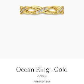 Julie Sandlau Ocean ring i str 50 sælges