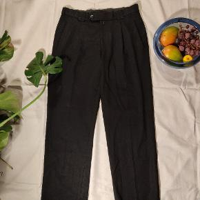 Sorte suitpants, wide fit. 32/32