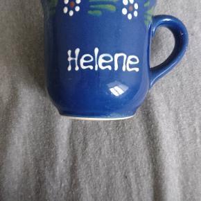 """Kop med navnet """"Helene"""" 🙂"""