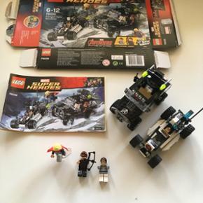 Lego Lego 76030 Marvel Super Heroes Komplet med instruktion og æske. Sendes mod betaling af Porto