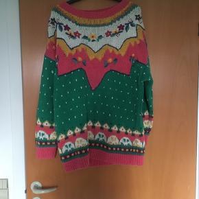 Retro - vintage sweater str M i mange farver. Standen er rigtig god!