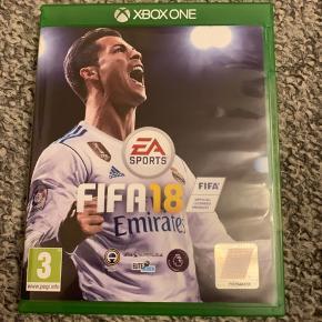 """Sælger dette Xbox One spil """"Fifa 18"""" da jeg ikke spiller Xbox One længere;)"""