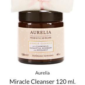 Aurelia Miracle Cleanser 120 ml  Uåbnet og med musselinklud   Hentes på Islands Brygge