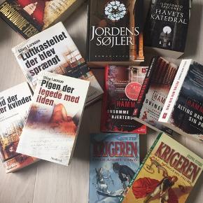 Forskellige bøger sælges til 10kr stk