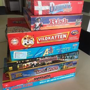 Diverse brætspil sælges, kan sagtens sælges enkeltvis 💚
