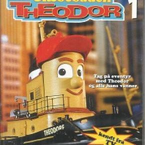 8606 - Slæbebåden Theodor 1 (DVD)  Dansk Tale - I FOLIE