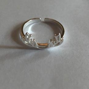 925 justerbar ring Prisen er fast