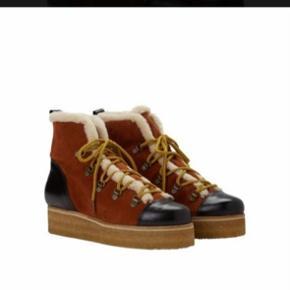 Super fede vinter støvler fra ganni   Np 2499    Besvare kun seriøse henvendelser
