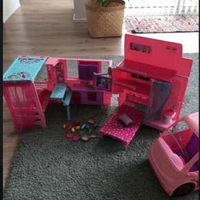Barbie autocamper