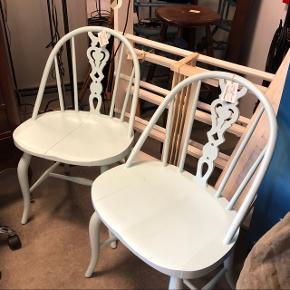 Lyseblå Windsor stole 195kr pr stk