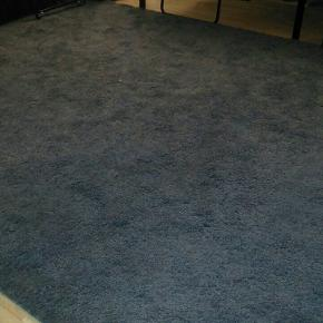 6months gray carpet!!! Is absolutely new! 2 x 2,7 approx! No pets or shoes on it!