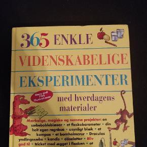 God bog med en masse gode eksperimenter beregnet til børn   Kom gerne med et realistisk bud