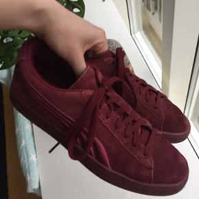 Fine PUMA sneakers uden store tegn på brug. Meget størrelsestilsvarende :)