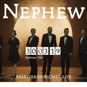 2 billetter til Nephew, Spektrum Vejle. 30 marts. Sælges samlet, købspris 964kr